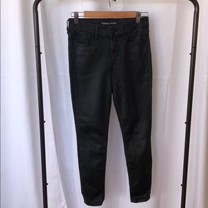 Express Black Ankle Jeans